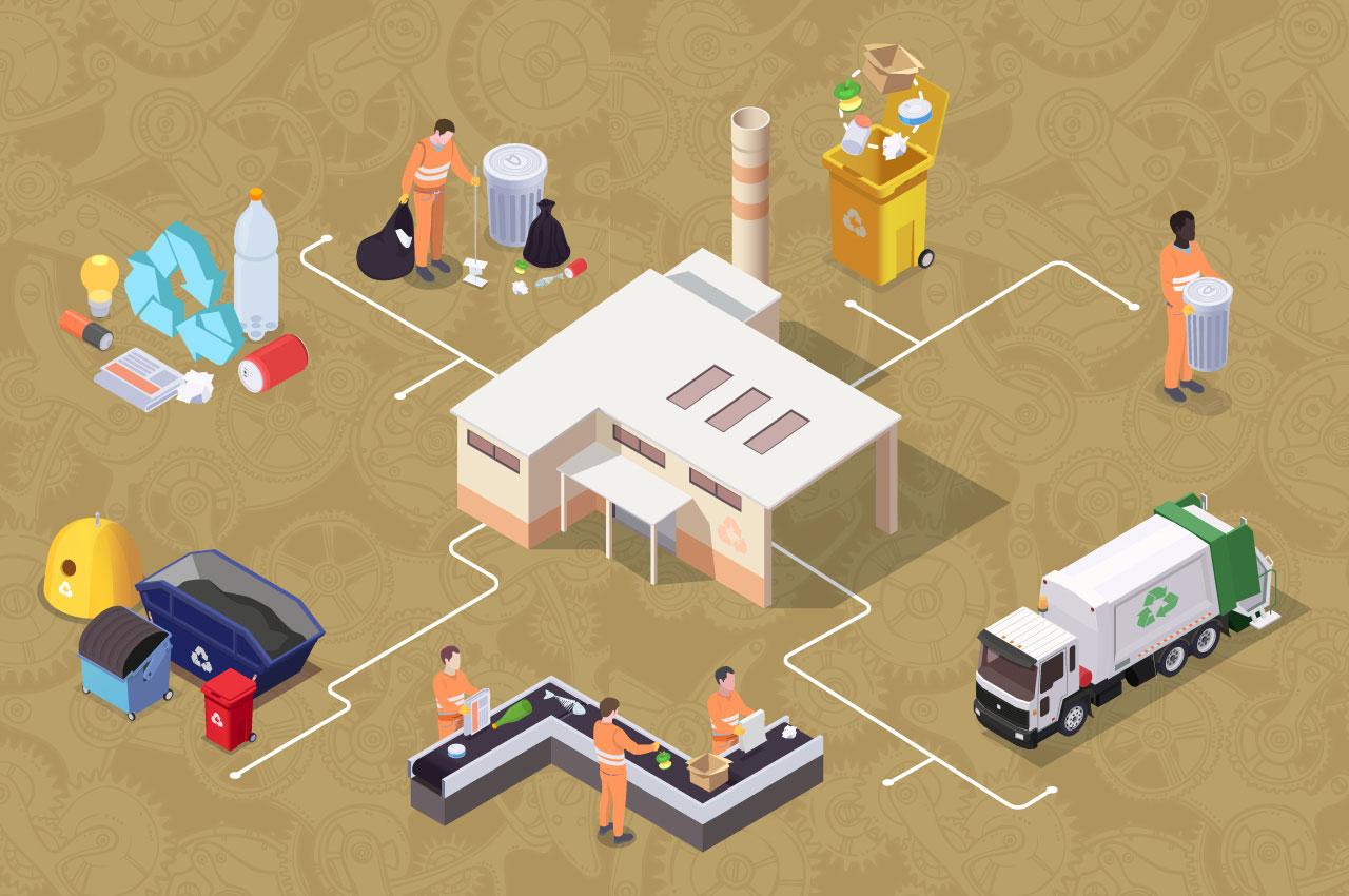 """A engenharia e o lixo            ou os """"resíduos sólidos urbanos"""""""