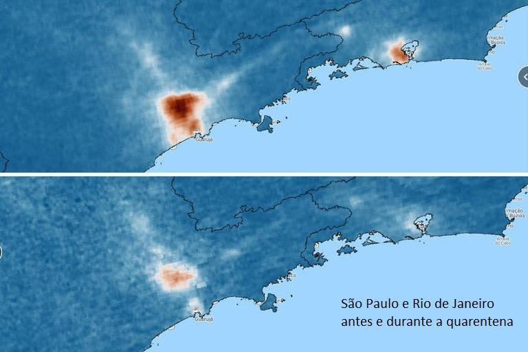 Coronavírus: o isolamento social melhorou a qualidade do ar em várias cidades do mundo