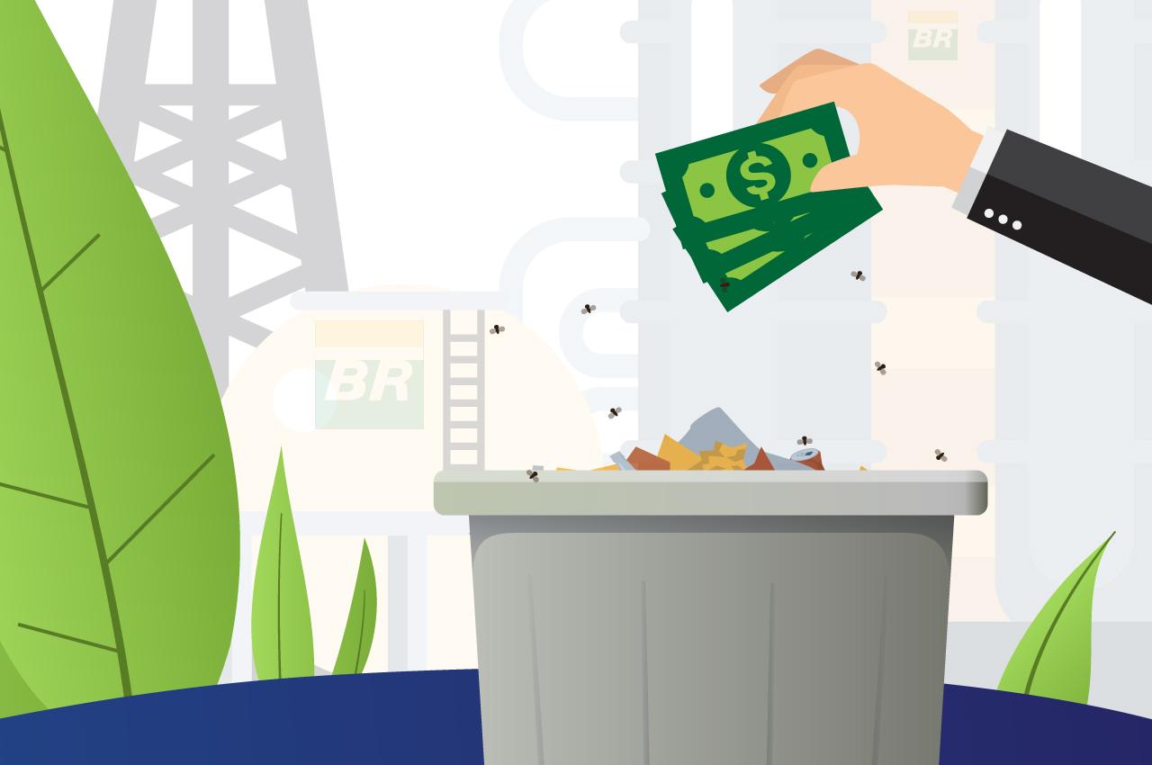 Direção da Petrobras escolhe fazer mau negócio e perder dinheiro na venda da BSBIOS